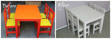How To Paint Wooden Chairs by How To Paint Ikea Laminate Furniture Tutorial Smashed Peas U0026 Carrots