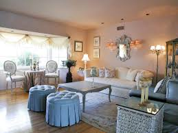shabby chic living room with upholstered sofa beautiful shabby