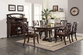 keenan 7pc pedestal dining set 60560 60257 60258