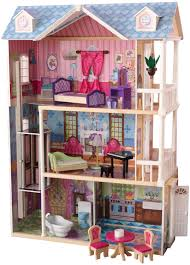 How To Make Dollhouse Furniture Out Of Household Items Amazon Com Kidkraft My Dreamy Dollhouse With Furniture Toys U0026 Games