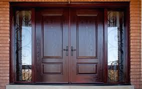 front door outstanding wood double front door for house ideas