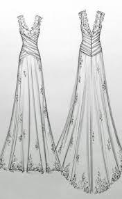 wedding dress sketches anna schimmel