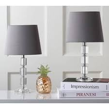 grey table lamps for less overstock com