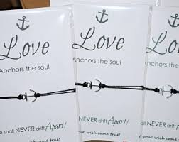 Quot Love Anchors The Soul - anchor bracelet quote etsy
