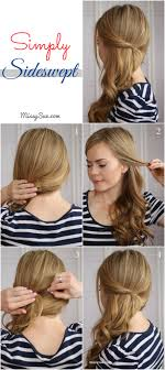 side swoop hairstyles women hairstyle side swept hairstyles for prom easy waves with