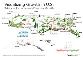 Dallas Metro Map by Visualizing Growth In U S