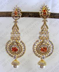 heavy diamond earrings gold diamond heavy hanging earrings gold diamond heavy hanging