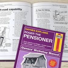 personalised haynes manuals by letteroom notonthehighstreet com