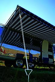 Cargo Trailer Awning Best 25 Rv Awning Fabric Ideas On Pinterest Camper Awnings
