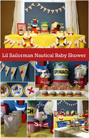 Red Baby Shower Themes For Boys - l u0027il sailorman nautical baby boy shower spaceships and laser beams