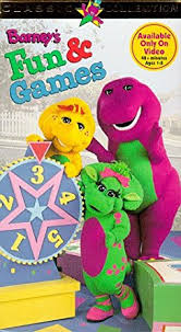 amazon barney u0027s fun u0026 games vhs bob west julie johnson
