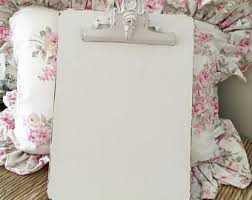 Shabby Chic Office Accessories by Distressed Clipboard Etsy