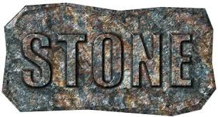 creating a carved stone text effect in corel photo paint