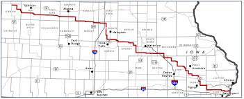 Iowa Counties Map Community Outreach