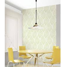 Peal And Stick Wallpaper Fern Lime Green Peel And Stick Wallpaper Nu1688 U2013 D Marie Interiors