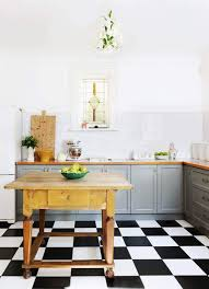 black and white kitchen floor images 41 best kitchen floor tile ideas 2021 with photos
