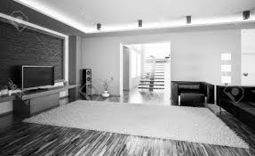 Modern Interior Design Living Room Black And White Black And White Living Room With Accent Color Traditional