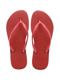 Shaeds Of Red by Havaianas Havaianas Flip Flops In Two Shades Of Red Slim Red