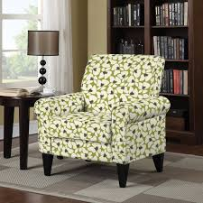 Damask Accent Chair Portfolio Dana Green Modern Floral Arm Chair Best Furniture Your