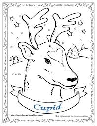 free printable coloring pages reindeer christmas rudolph