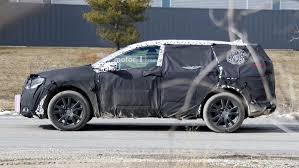 acura van next acura rdx spied failing to keep covered up