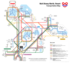 Map Of Epcot How To Navigate With Disney World Transportation
