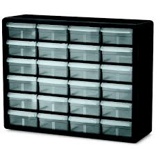 Plastic Storage Containers Dividers - akro mils plastic storage cabinets 24 drawers small parts
