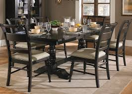trestle base dining table trestle table with solids rubberwood and black cherry finish