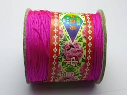 knotting cord aliexpress buy 100 meters hot pink string knot cord