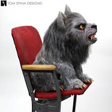 halloween werewolf props american were pup in london life size sculpture from tom spina