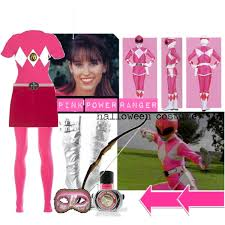 Power Rangers Halloween Costumes Adults Pink Power Ranger Halloween Costume Polyvore