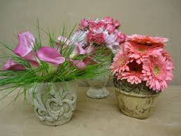 home decor small floral centerpieces fresh and natural beautiful