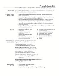 Sample Resume For Nursing Graduate by Sample Resume Nursing Graduate Templates