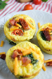 Cottage Cheese Recipes Healthy by Bacon Spinach U0026 Tomato Breakfast Egg Cups Recipe Healthy Ideas