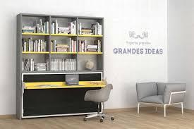 lit escamotable avec bureau élégant lit armoire escamotable rabattable avec bureau lit