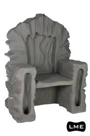 Stone Chair Props Large Music Events Ltd