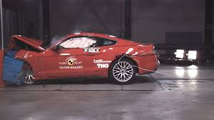 mustang gt2 ford mustang scores 2 rating in ncap crash test
