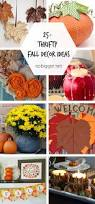 Fall Decorating Projects - 25 thrifty fall decor ideas