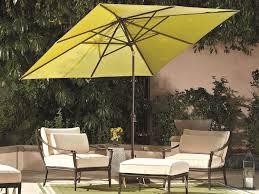 Treasure Garden Patio Umbrellas by Treasure Garden Market Aluminum 8x10 Foot Rectangular Crank Lift