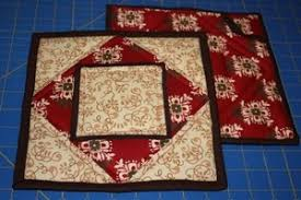 free patterns quilted potholders free potholder pattern part 1 of 3 quilts pinterest