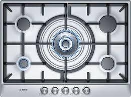 piano cottura bosh piano cottura a gas bosch pcq715b90e di 70 cm di larghezza