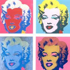 pattern art famous pop art classic style of 50 s