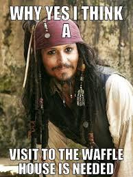 Pirates Of The Caribbean Memes - waffles yes my meme creations pinterest waffles