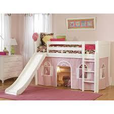girls castle loft bed home design mdf children bedroom set furniture kids bed funiture