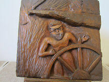 wood carving nautical ebay