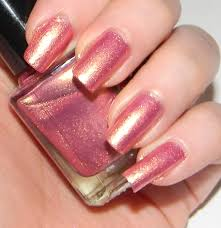 my favorire very hard to find nail color pink with golden