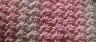 crochet pattern using star stitch ag handmades easy star stitch baby blanket