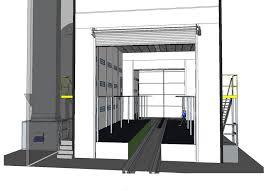 cabine de peinture camions poids lourds et grandes machines sima