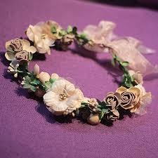 hair wreath bridal floral crown hair wreath mint wreath wedding headpiece