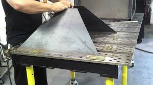 Welding Table Plans by Plasma Cutting Table Diy Downdraft Table Using Stronghand Tools